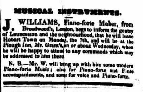 Launceston Advertiser, 24 December 1840