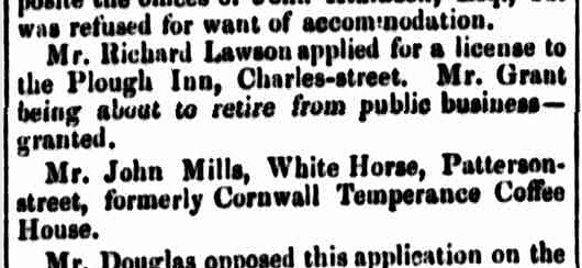 Launceston Advertiser, 4 September 1845