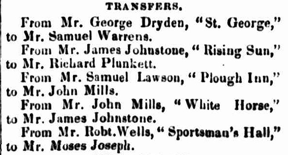 Launceston Advertiser, 5 February 1846