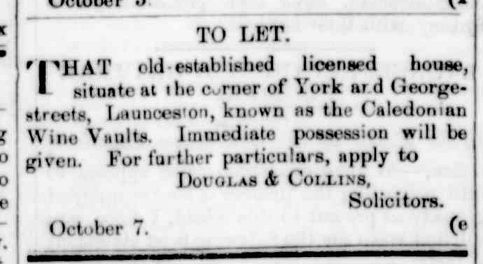 Launceston Examiner, 13 October 1864