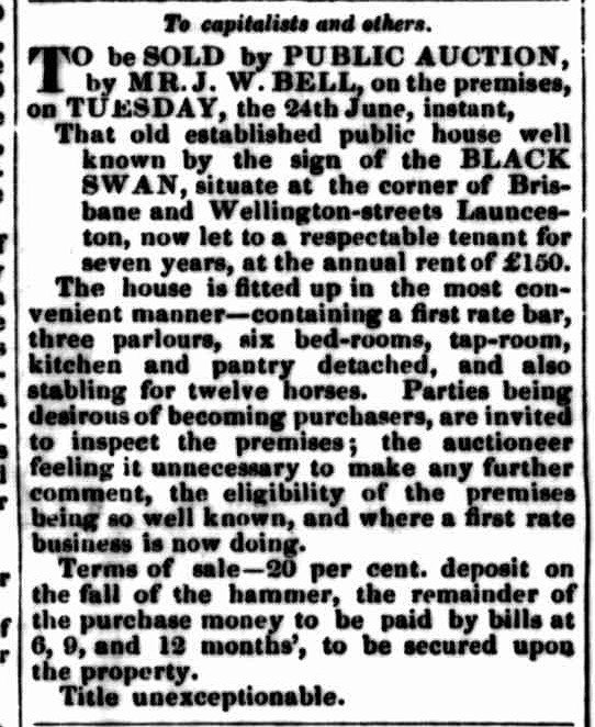 Launceston Examiner, 18 June 1845
