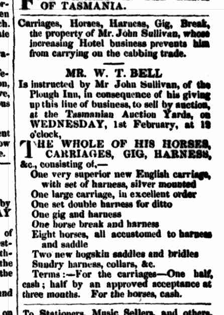 Launceston Examiner, 22 December 1853