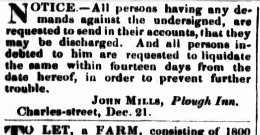 Launceston Examiner, 25 December 1847
