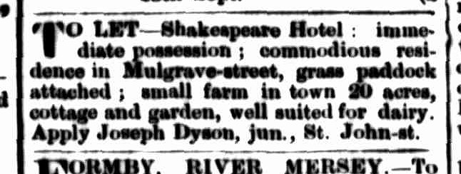 Launceston Examiner, 27 September 1873