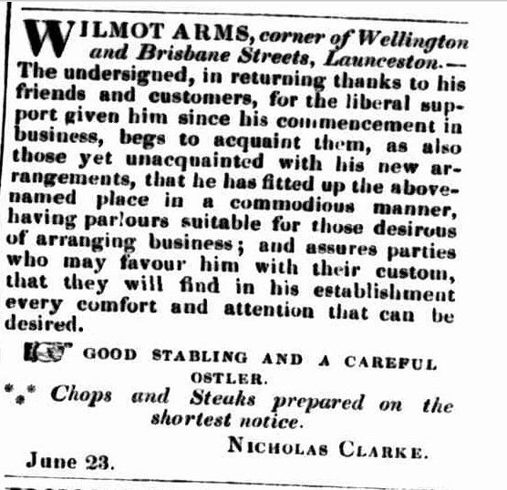 Launceston Examiner, 28 July 1847