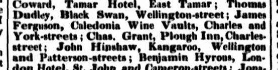 Launceston Examiner, 3 September 1842
