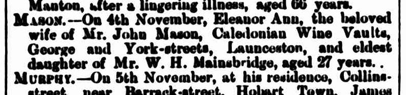 The Mercury, 24 November 1866