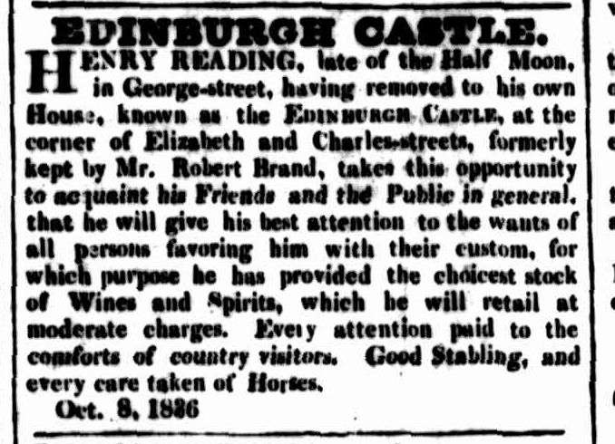 Cornwall Chronicle, 15 October 1836