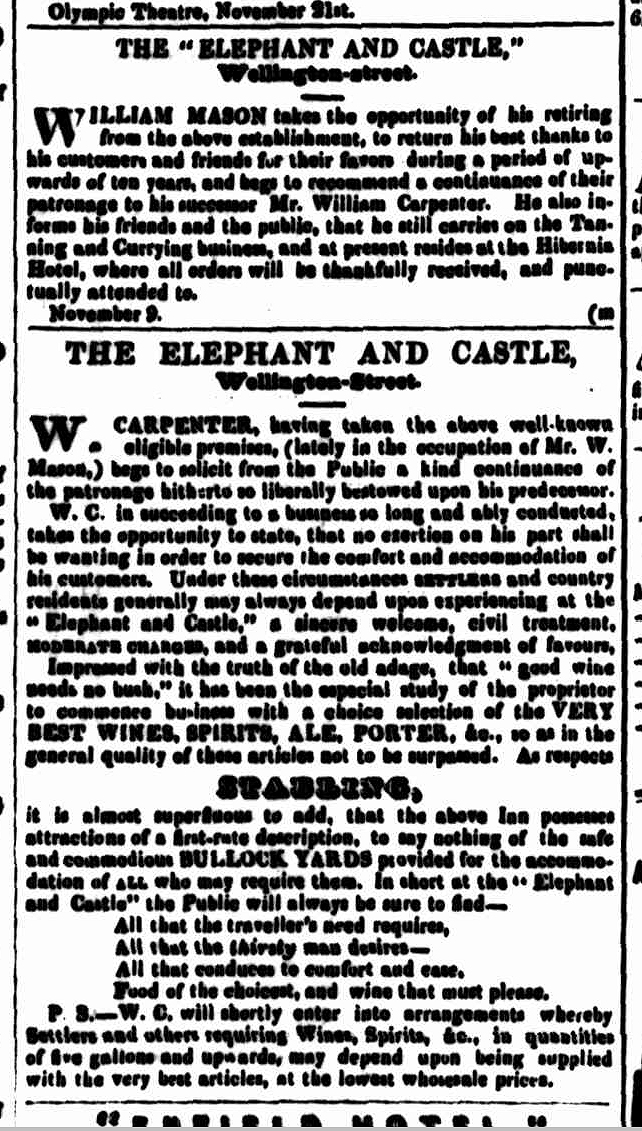 Cornwall Chronicle, 21 November 1846