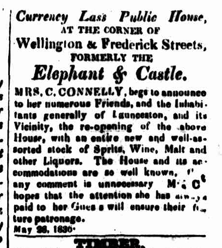 Cornwall Chronicle, 28 May 1836