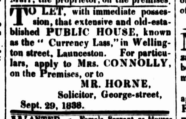 Cornwall Chronicle, 29 September 1838