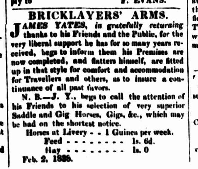 Cornwall Chronicle, 3 February 1838