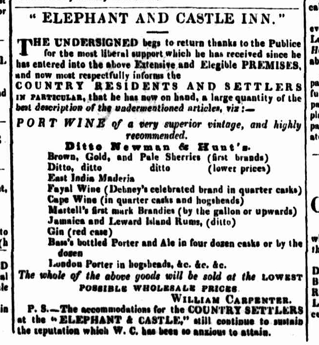 Cornwall Chronicle, 30 December 1846