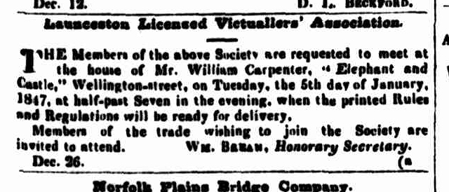 Cornwall Chronicle, 30 December 1846a