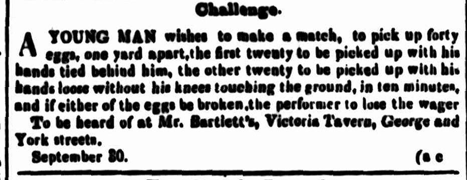 Cornwall Chronicle, 30 September 1848