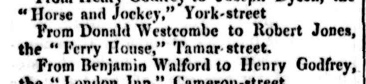 Cornwall Chronicle, 5 February 1851