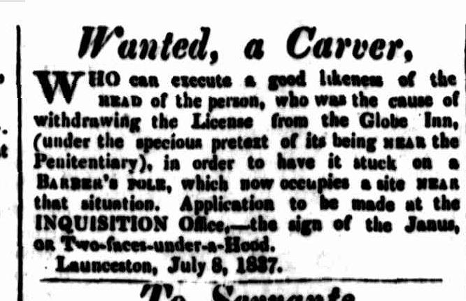 Cornwall Chronicle, 8 July 1837