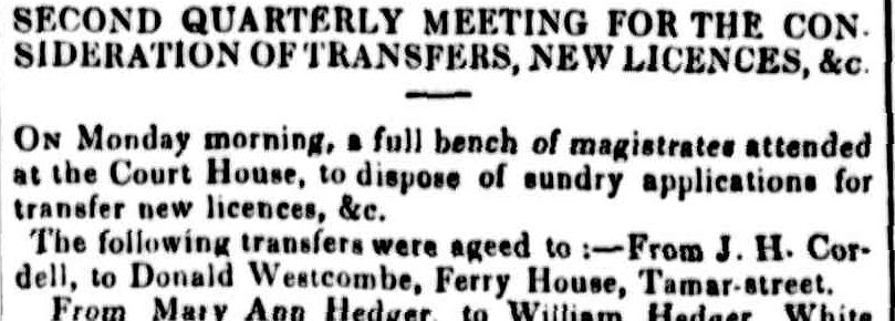 Cornwall Chronicle, 9 February 1848