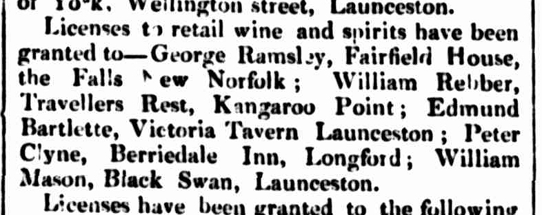 Hobart Town Courier, 16 February 1838