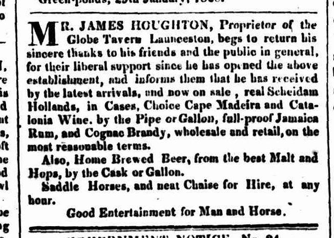 Hobart Town Courier, 2 February 1828