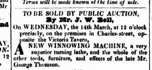 Launceston Advertiser, 1 March 1838