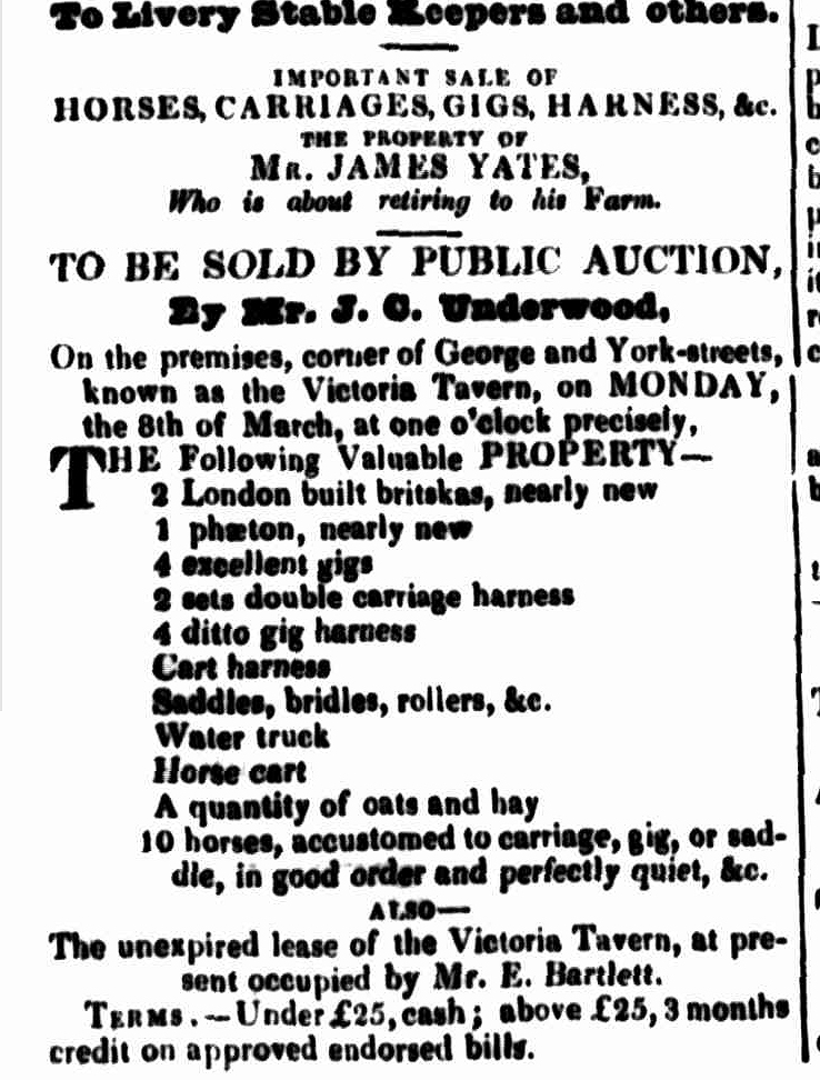 Launceston Advertiser, 11 February 1841