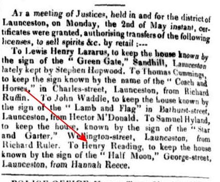 Launceston Advertiser, 19 May 1836