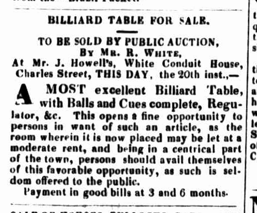 Launceston Advertiser, 20 June 1833