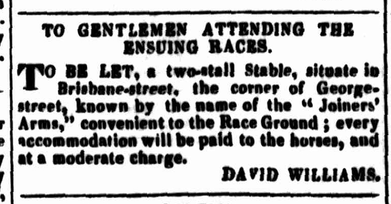 Launceston Advertiser, 21 November 1833