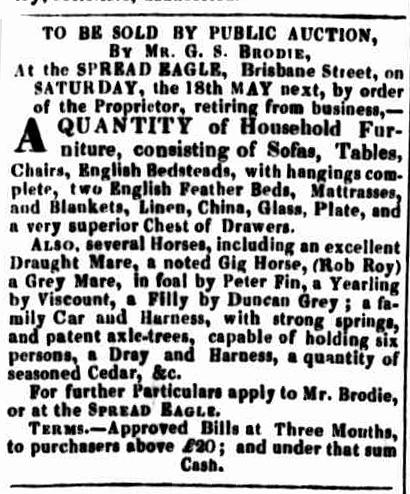 Launceston Advertiser, 25 April 1833