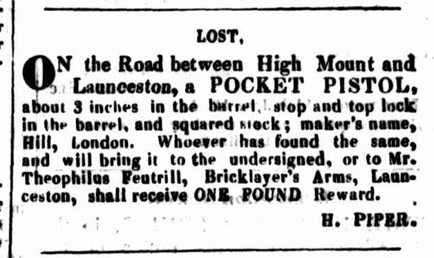 Launceston Advertiser, 29 February 1832
