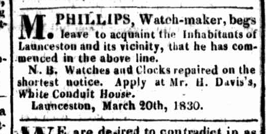Launceston Advertiser, 5 April 1830