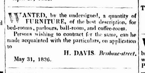 Launceston Advertiser, 9 June 1836