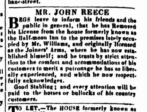 Launceston Advertiser, 12 March 1835