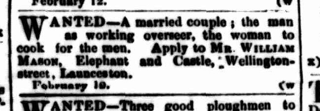 Launceston Examiner, 16 February 1861