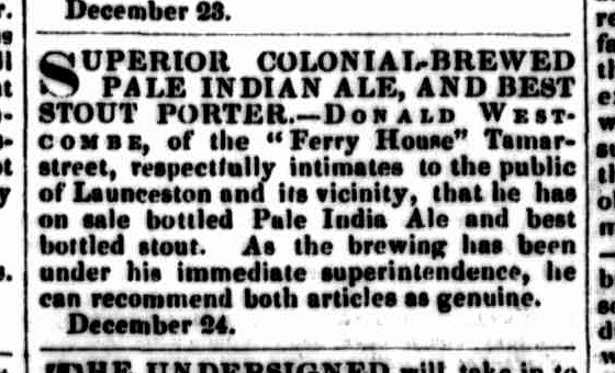 Launceston Examiner, 25 December 1850