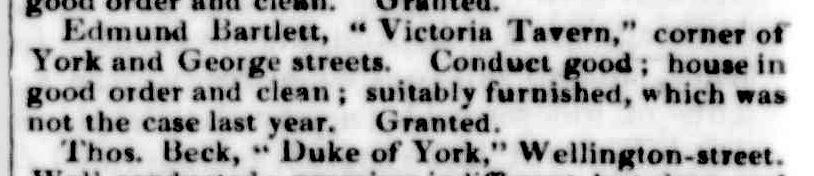 Launceston Examiner, 4 September 1847