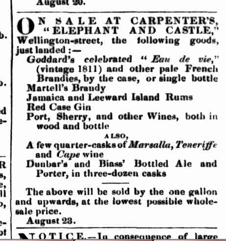 Launceston Examiner, 4 September 1847