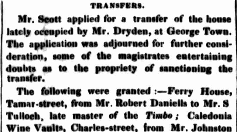 Launceston Examiner, 7 May 1844
