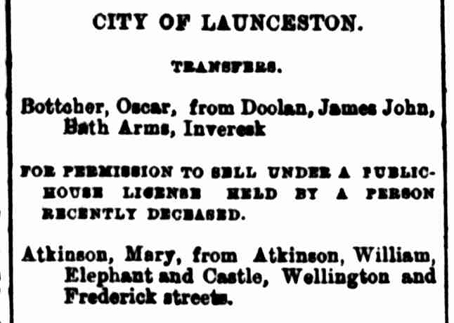 Launceston Examiner, 9 October 1890