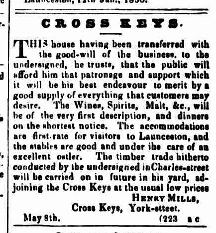 Cornwall Chronicle, 11 May 1850
