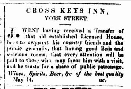 Cornwall Chronicle, 17 May 1856