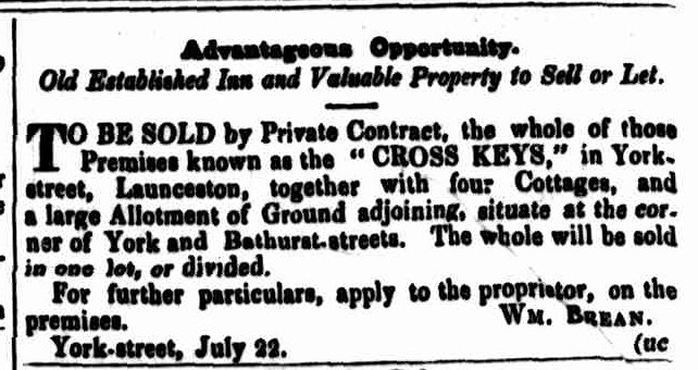 Cornwall Chronicle, 2 August 1845