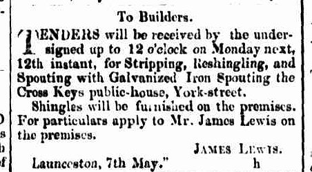 Cornwall Chronicle, 7 May 1856