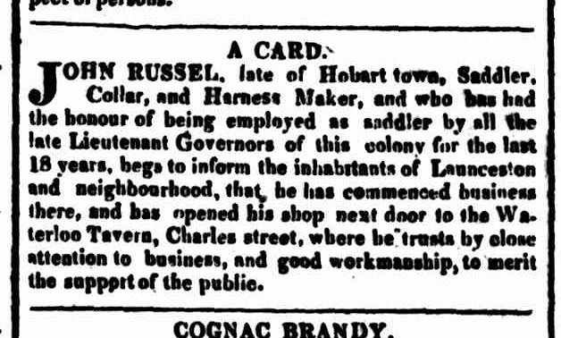 Hobart Town Courier, 5 April 1828