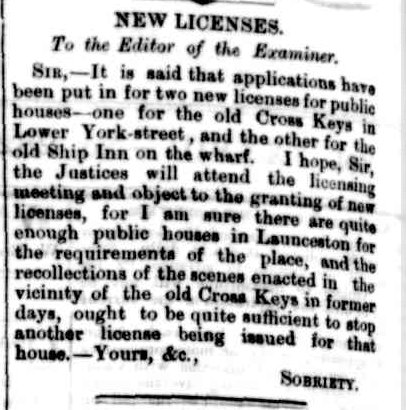 Launceston Advertiser, 23 November 1878