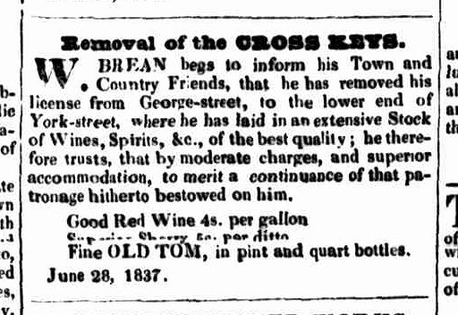 Launceston Advertiser, 29 June 1837