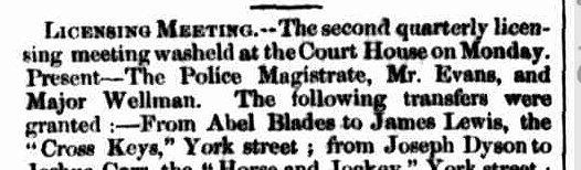 Launceston Examiner, 10 February 1853