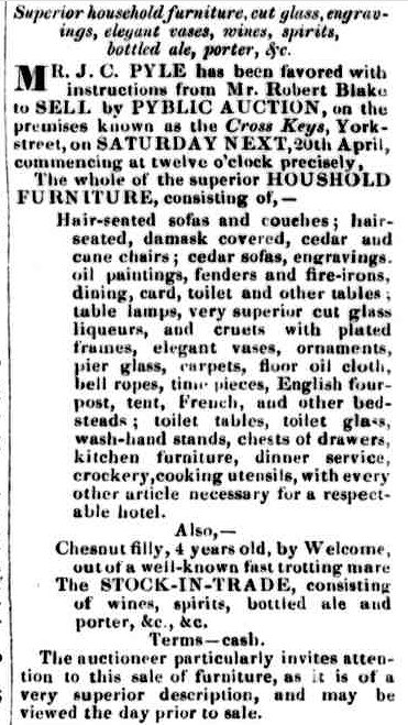 Launceston Examiner, 13 April 1850