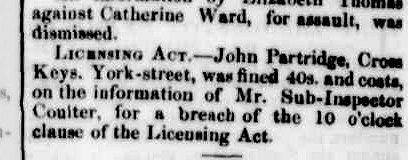 Launceston Examiner, 15 March 1859